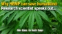 Artwork for Why HEMP can save humankind: Research scientist speaks out...