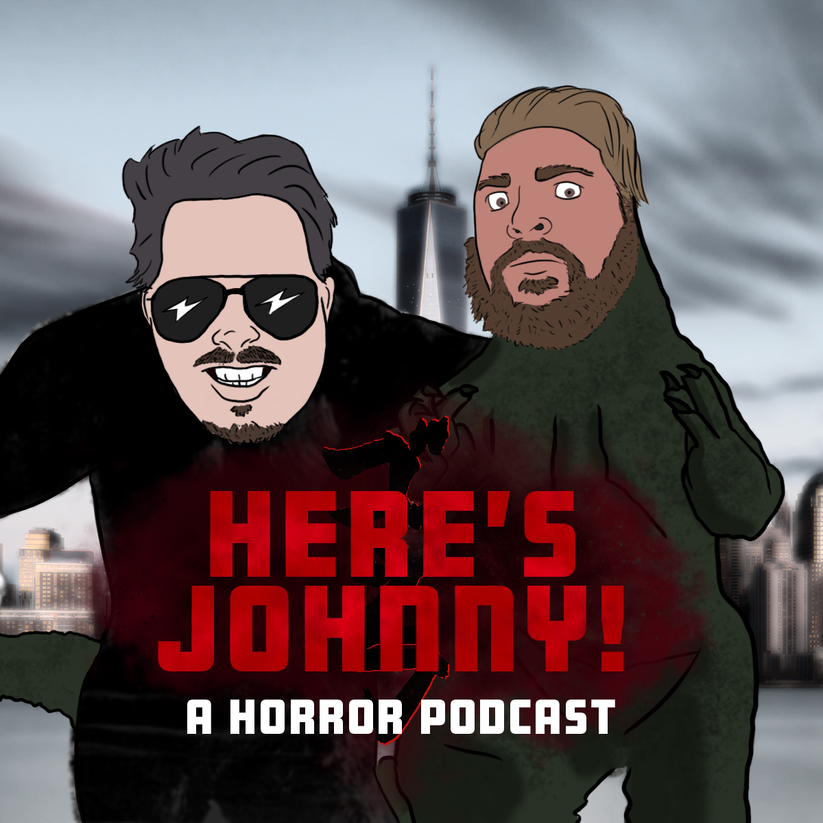 Here's Johnny! show art