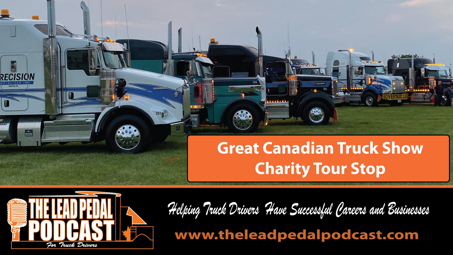 LP675 Helping Wounded Warriors with the Great Canadian Truck Show Charity Tour Stop