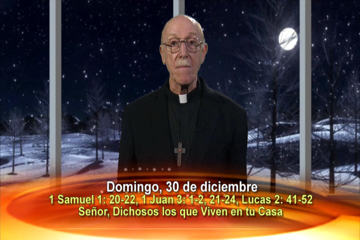 Artwork for Dios te Habla con Fr. Lenny de Pasquale;  Tema el hoy: Señor, dichosos los que viven en tu casa.