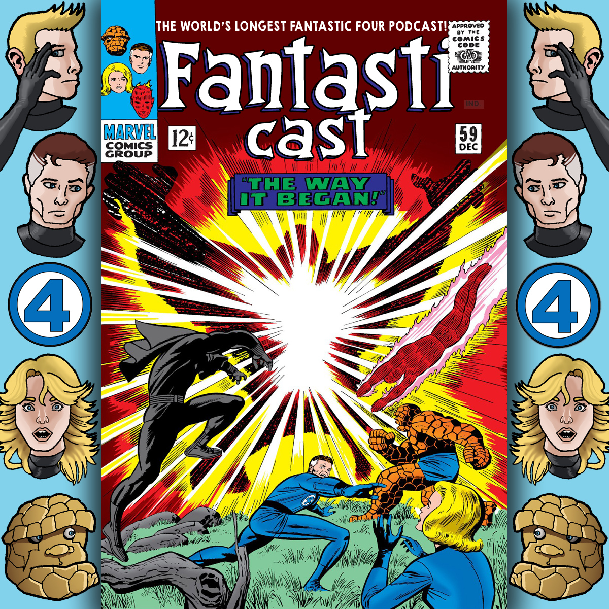 Episode 59: Fantastic Four #53 - The Way It Began