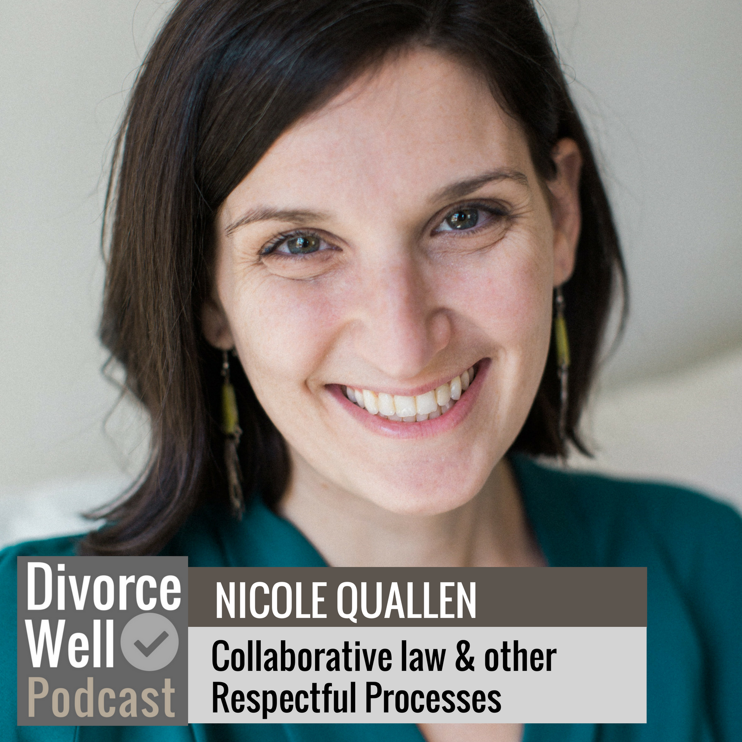The Divorce Well Podcast - 10 - Collaborative law and other respectful processes, with Nicole Quallen