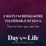 Artwork for MINISODE   2 Ways I'm Being More Vulnerable in 2019 & Tips on How You Can Too