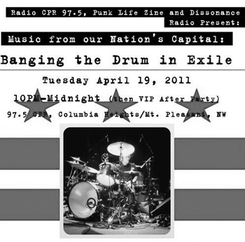 4-19-11 Punk Life Zine presents: Banging the Drum in Exile