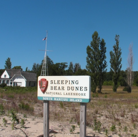 #6: North Manitou Island, August 2008, Part 1