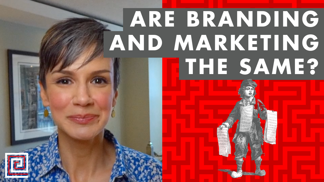 Artwork for Are Branding and Marketing the Same? - EP:086