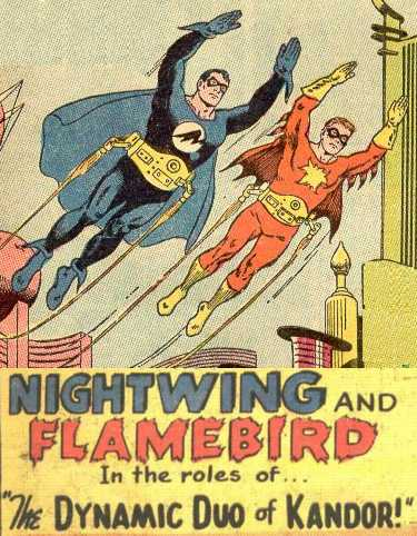 KomicsKast - 87 - Nightwing and Flamebird - Golden Age Goodness!
