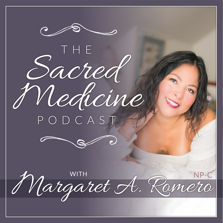 The Sacred Medicine Podcast show art