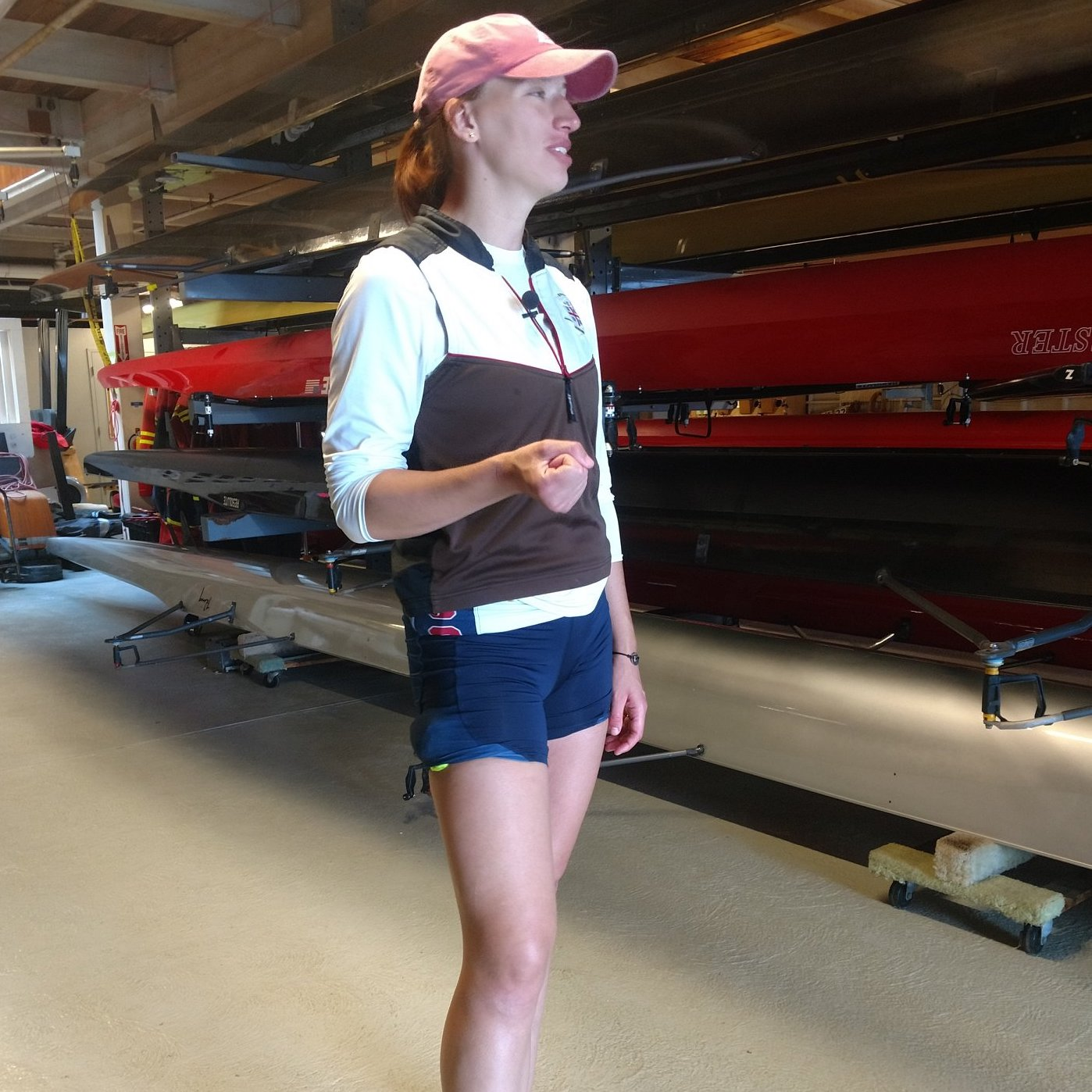 Artwork for Episode 47: Rowing with Olympic Gold Medalist Tessa Gobbo