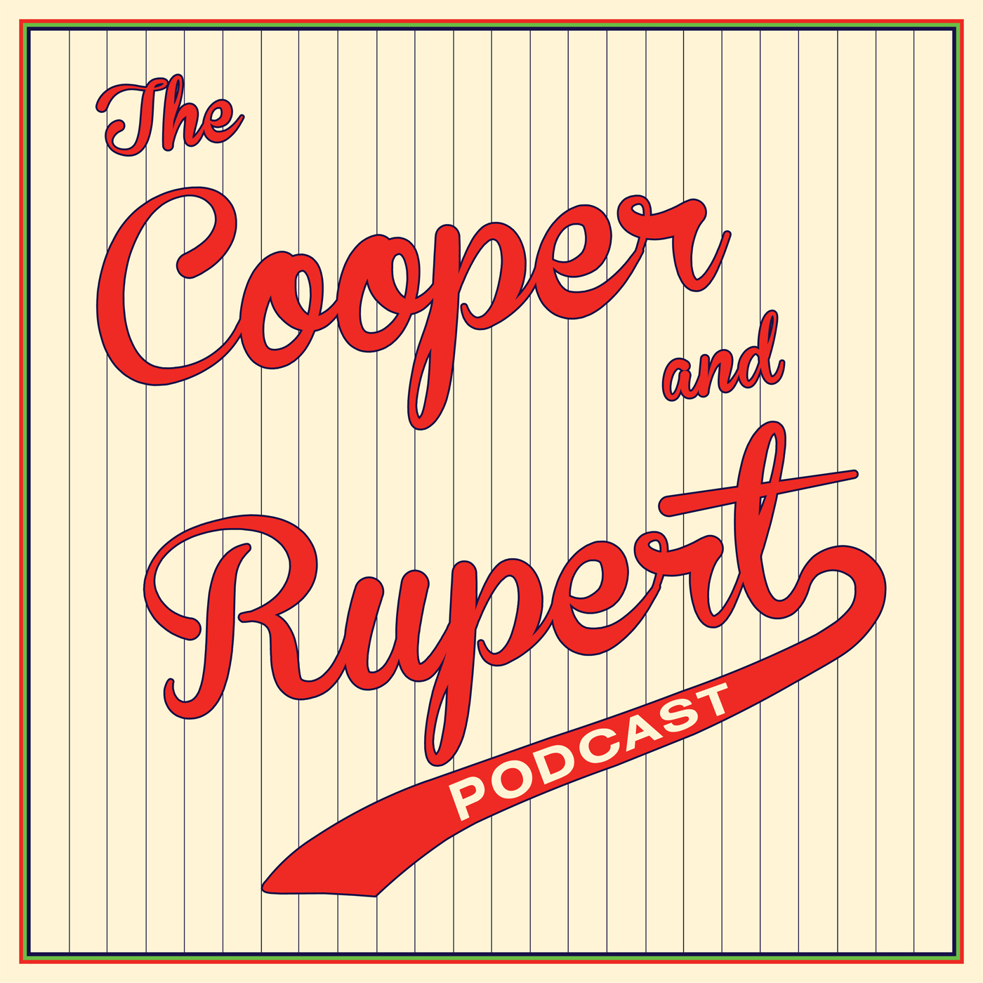 The Cooper and Rupert Podcast: A Sports Conversation logo