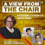Artwork for Fighting COVID-19 with Data w/Ursula Madden, CCO for the City of Memphis and Dr. Manoj Jain, Infectious Disease Specialist | A VIEW FROM THE CHAIR