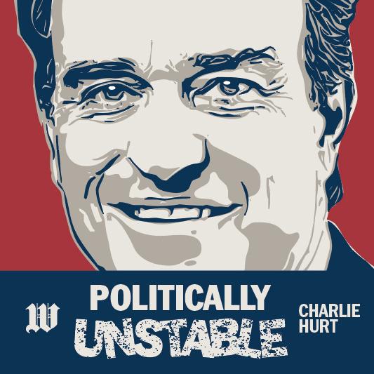 Charlie Hurt: Politically Unstable show art