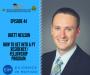 Artwork for Brett Neilson- How To Get Into A PT Residency/Fellowship Program