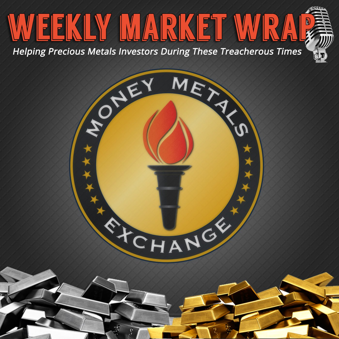 Money Metals' Weekly Market Wrap Podcast show art