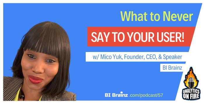 Mico Yuk Analytics on Fire Podcast Artwork