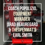 Artwork for Coach Popolizio returns and we talk gear with Brad Beauregard and rankings with Earl Smith - NCS29