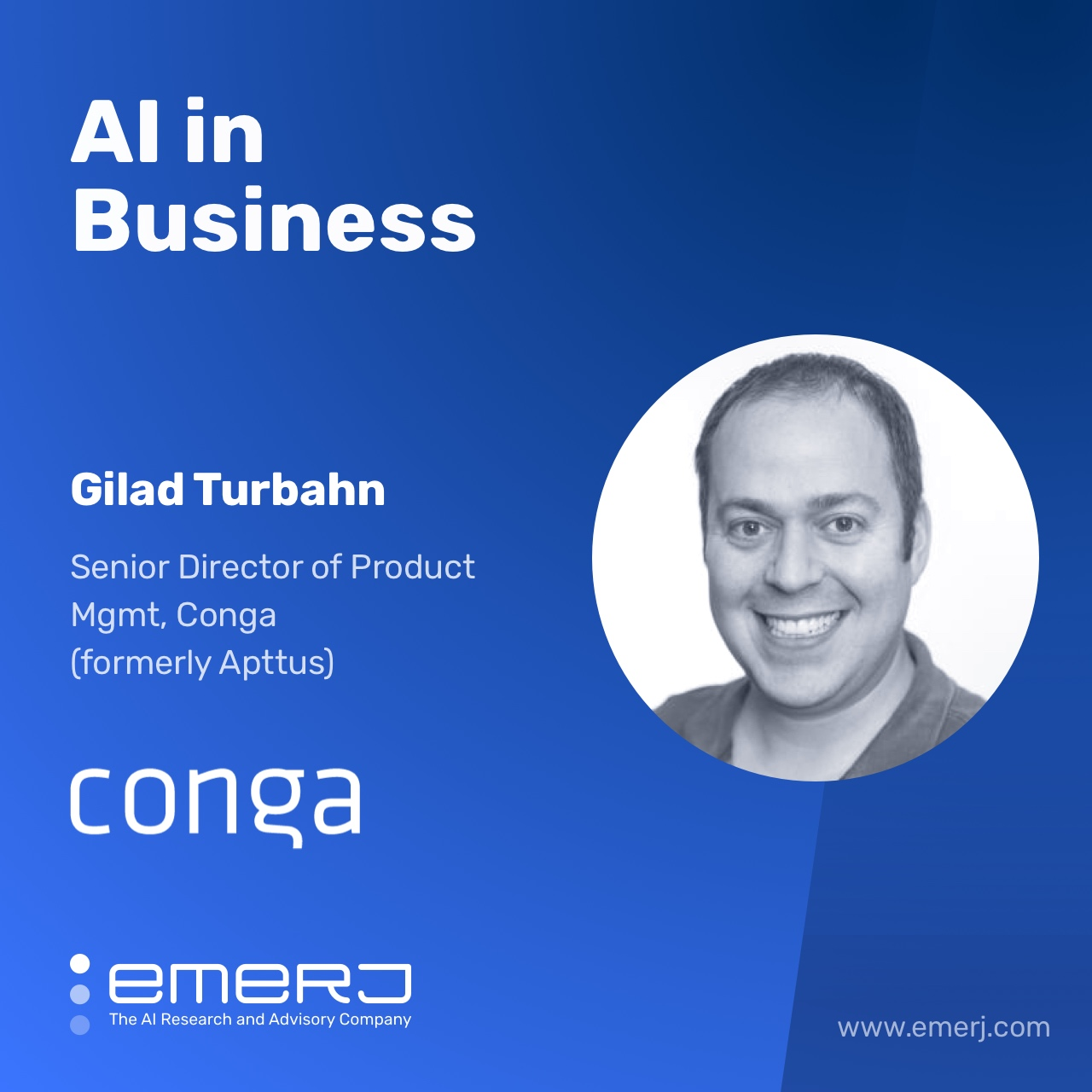 Conversational Interfaces for Busy Salespeople - with Gilad Turbahn of Conga