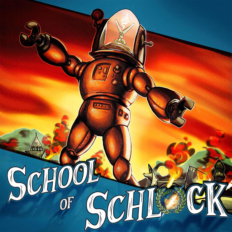 School of Schlock show art
