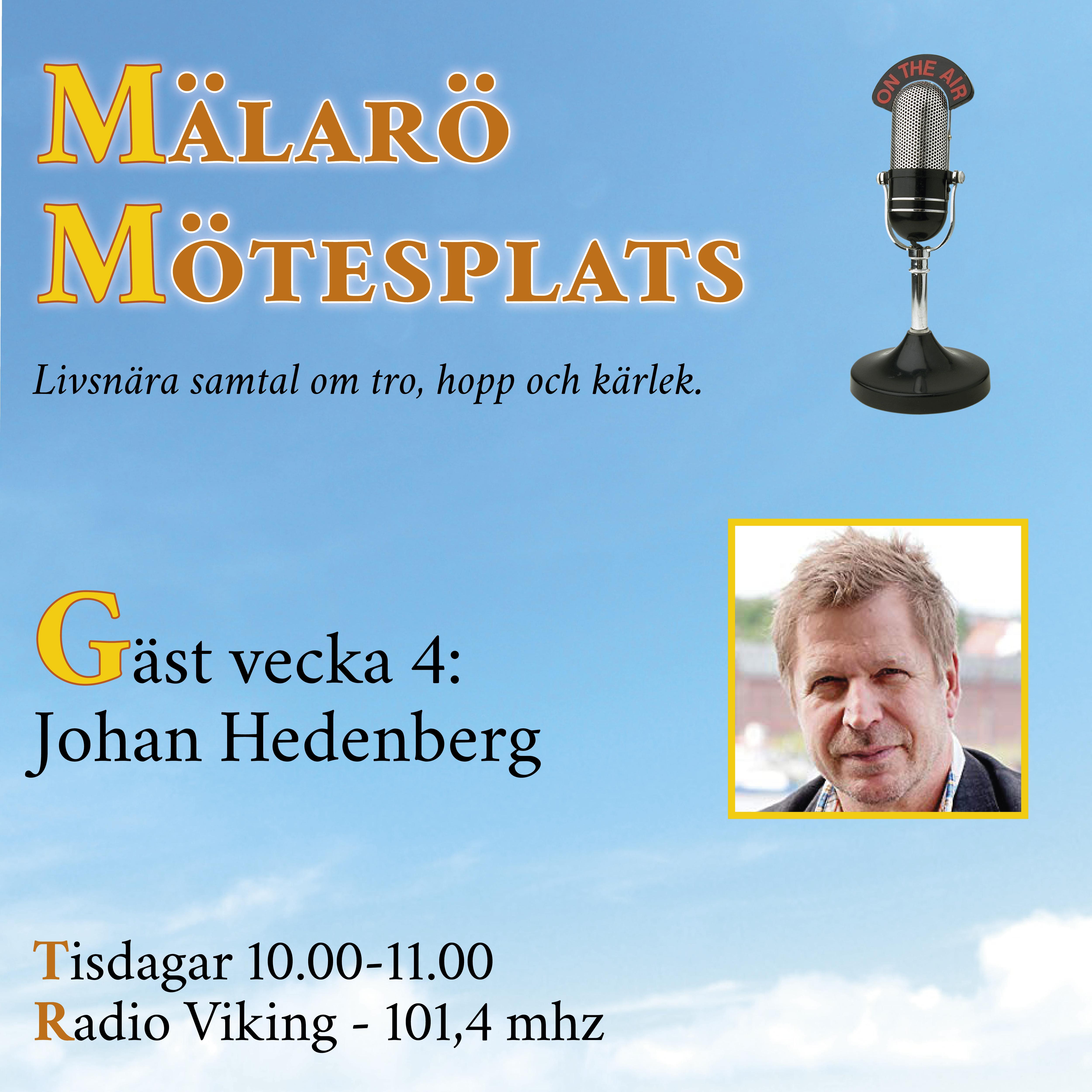 Möte med Johan Hedenborg