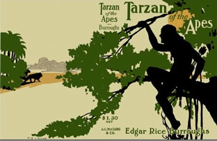 Next up - TARZAN!!!!