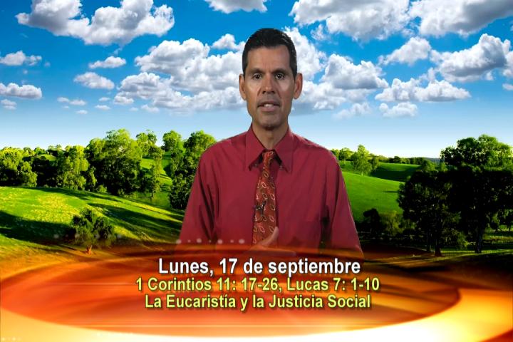 """Artwork for Dios te Habla con Jose Luis Elias;  Tema el hoy: """"La Eucaristía y la Justicia Social"""""""