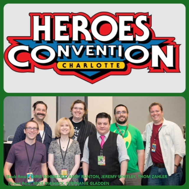 Episode 546 - Heroes Con: All-Ages Panel w/ Stephanie Gladden/Mike Maihack/Andy Runton/Chris Schweizer/Jeremy Whitley/Thom Zahler