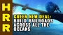 Artwork for GREEN NEW DEAL: Build railroads across all the oceans!