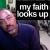 Faith Looks Up show art