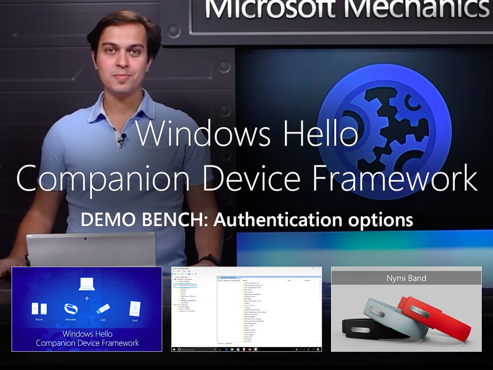 Artwork for Introducing the Windows Hello Companion Device Framework