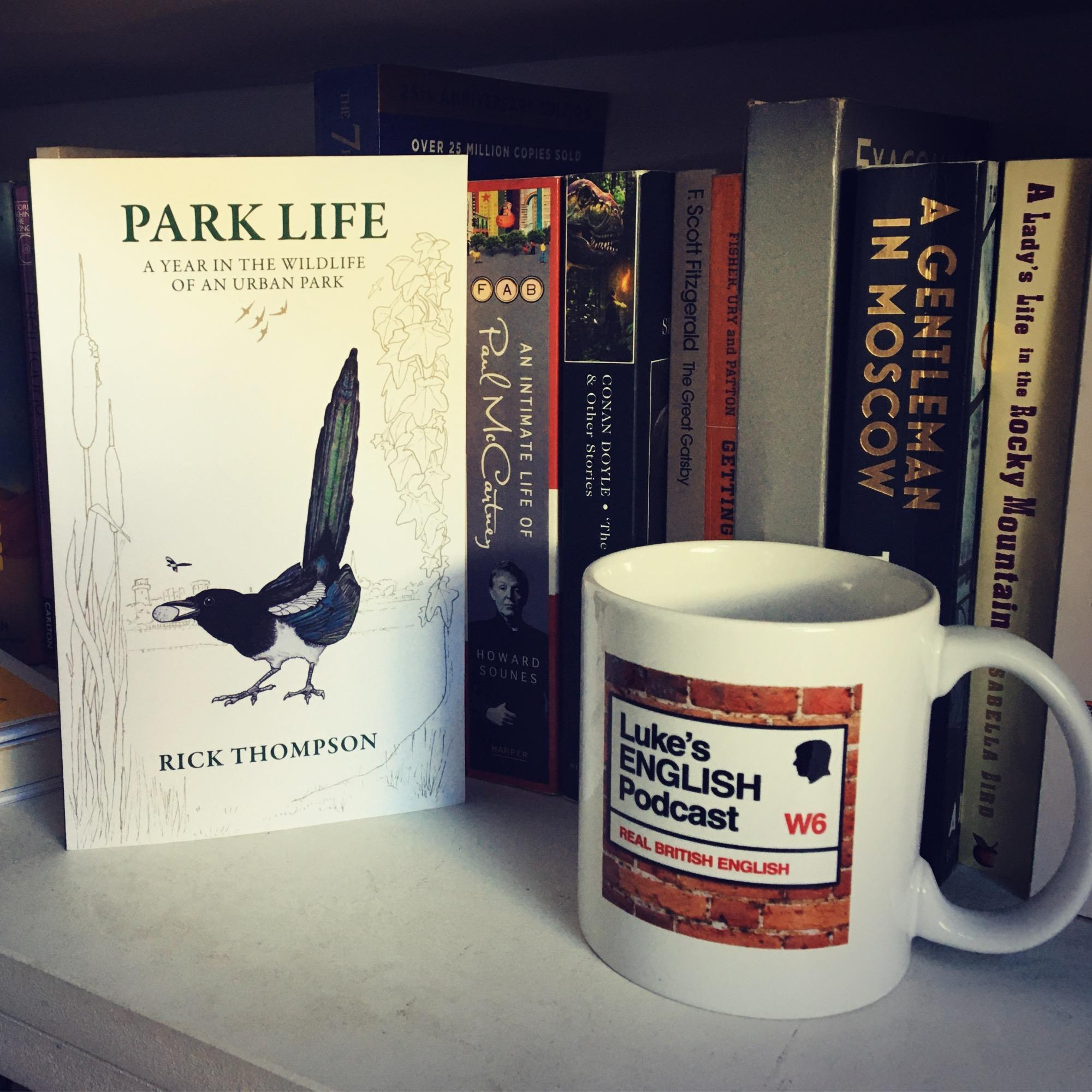 680. Park Life - A Year in The Wildlife Of An Urban Park (by Rick Thompson) / Animal Collective Nouns