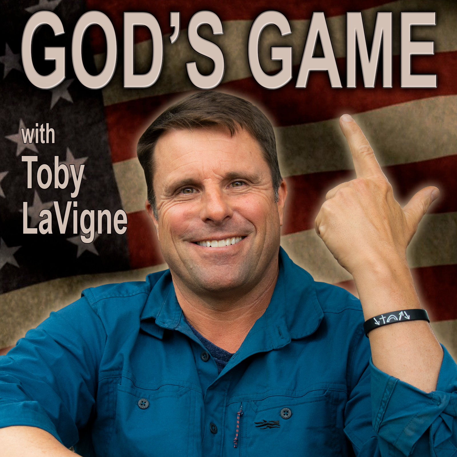 God's Game with Toby LaVigne show art
