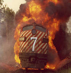 Train Wreck To Russia
