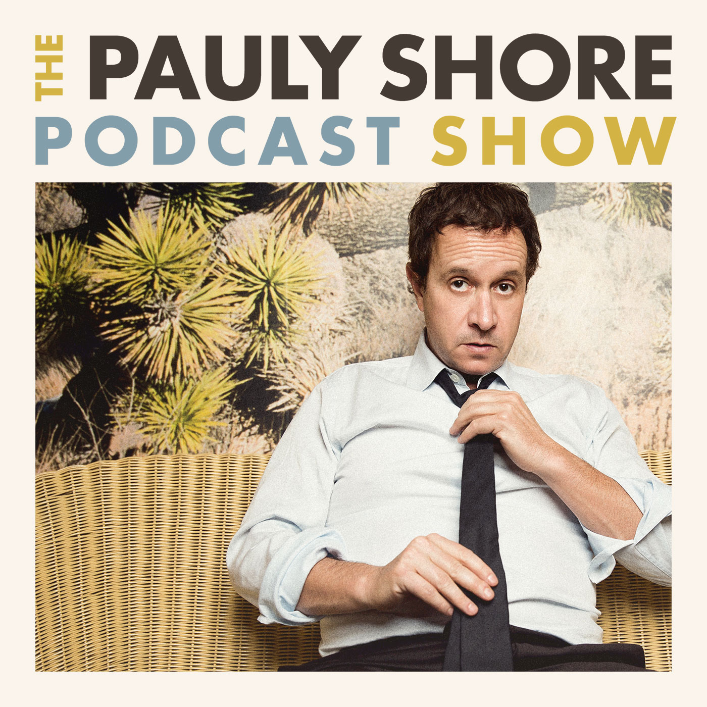 The Pauly Shore Podcast Show show art