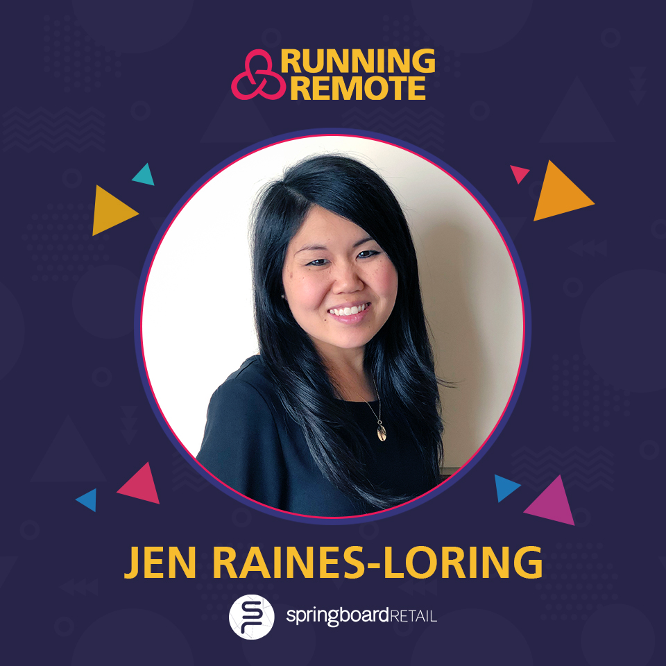 Jennifer Raines Loring, VP of People, Springboard Retail
