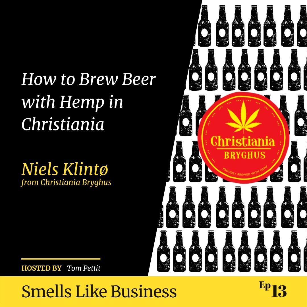 #13 - How to Brew Beer with Hemp in Christiania - Niels Klintø from Christiania Bryghus