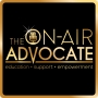 Artwork for Episode 1: Intro to The On-Air Advocate plus how organization & advocacy go hand in hand!