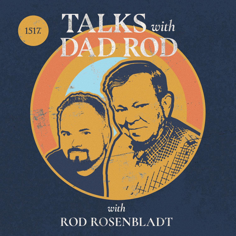 Talks with Dad Rod show art