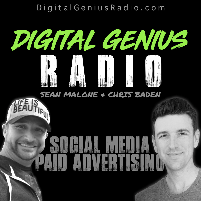 Digital Genius Radio: Social Media Paid Advertising show art