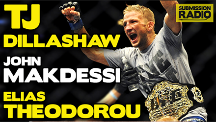 Submission Radio 17/5/15 TJ Dillashaw, Elias Theodorou, John Makdessi + UFC Fight Night Manila