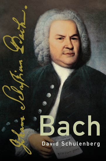 Cover of OUP Bach biography