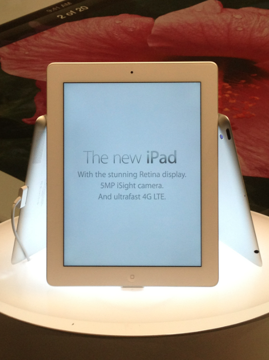 The New iPad - On Line