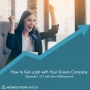 Artwork for 124. How to Get a Job with Your Dream Company
