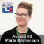 Artwork for Avsnitt 63 - Märta Brolinsson