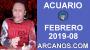 Artwork for HOROSCOPO ACUARIO-Semana 2019-08-Del 17 al 23 de febrero de 2019-ARCANOS.COM...