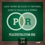 Artwork for Peace Revolution episode 024: Logic Works because it's Rational / How to Teach Each Other