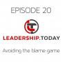 Artwork for Episode 20 - Avoiding the Blame Game