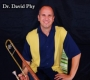 Artwork for Trombonist David Phy recalls turning sheet music for the church organist--his dad