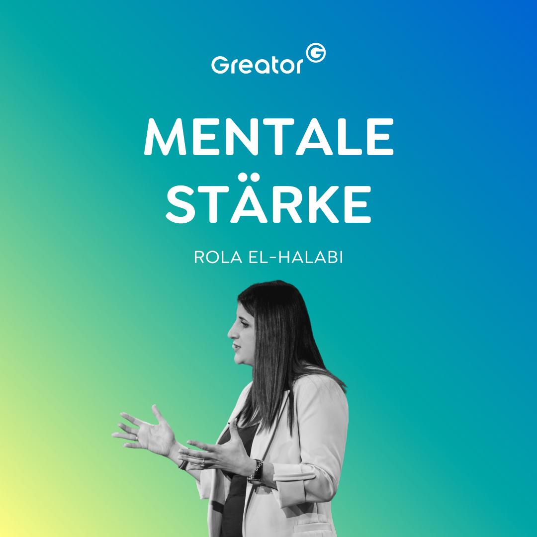 Selbstbewusst werden: Nie wieder Angst vor der Zukunft haben // Rola El-Halabi