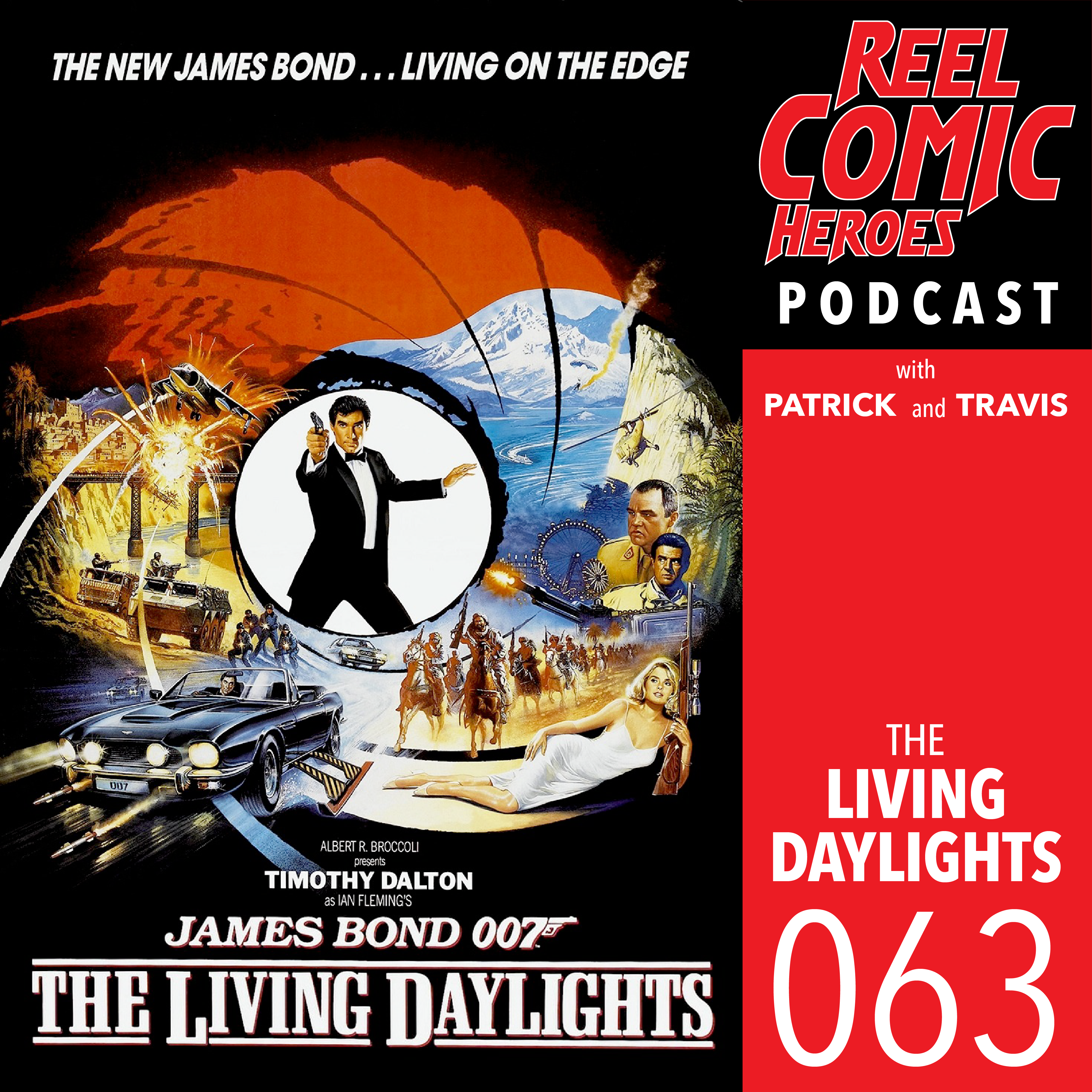 Artwork for Reel Comic Heroes 063 - The Living Daylights