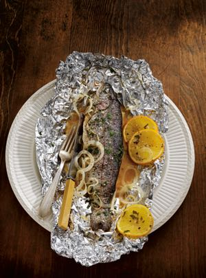 Recipe of the week - Grilled Pink Salmon in Foil